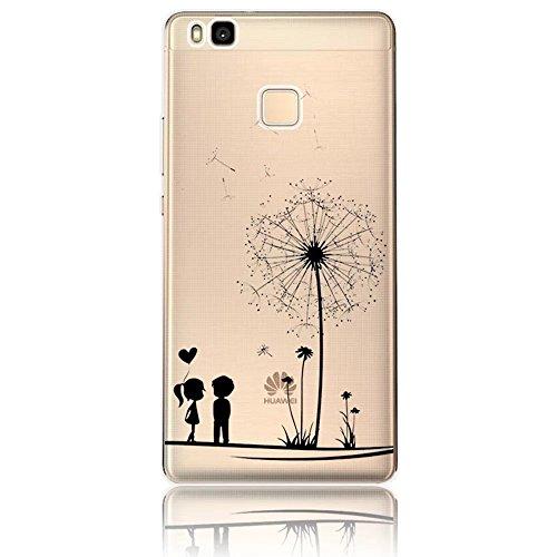 Vandot Case Cover per Huawei P9 Lite 5.2 Pollici 3D
