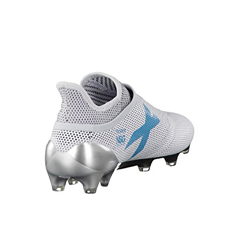 adidas X 17+ Purespeed FG, Chaussures de Sport Homme Blanc (Ftwbla / Azuene / Gritra)