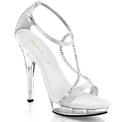 Heels-Perfect, Sandali donna Argento (Silber (Silber))