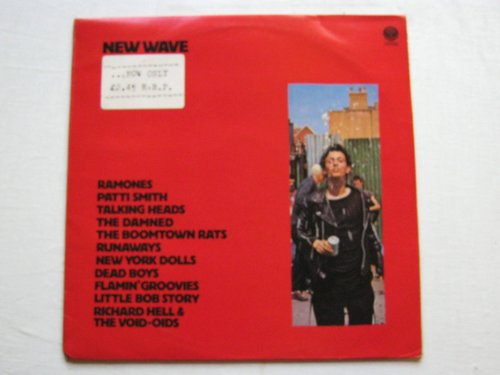 Various New Wave LP Vertigo 6300902 EX/EX 1970s with Ramones, Talking Heads & New York Dolls