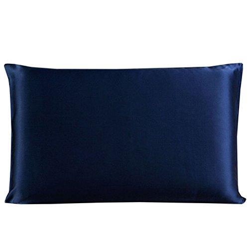 achic-girl-22-momme-terse-silk-de-almohada-with-hidden-zipper-azul-marino-talla-unica