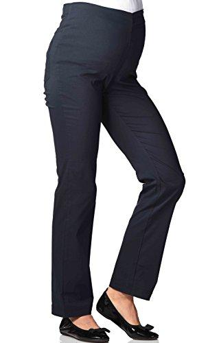 Christoff Umstandshose Schwangerschaftshose Jersey-Hose Dora - Straight Fit -