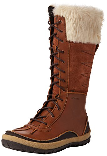 Merrell Women's Tremblant Tall Polar Waterproof Boots, Brown Oak, 6.5 UK 40...