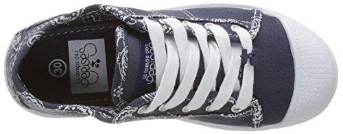 Le Temps des Cerises Basic 02 Sneakers Basse per Le Donne Blu (Bandana Navy)