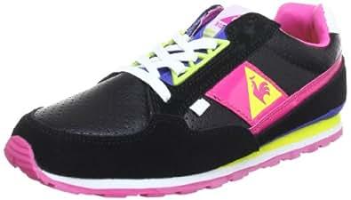Le Coq Sportif THIENNES LOW WOMEN 01041022.25Y, Damen Sneaker, Schwarz (Black), EU 41