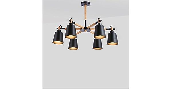 Kronleuchter Rund Holz ~ Kronleuchter deckenlampe holz vintage industrial deckenleuchte