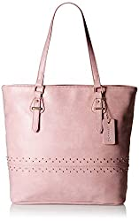 Caprese Sue Women's Tote Bag (Dull Pink)