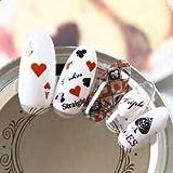 Arte de uñas: Calcomanías y autoadherentes Calcomanía Transferible con Agua DTLS234 Pegatina Tatuaje para Uñas Nail Sticker - FashionLife