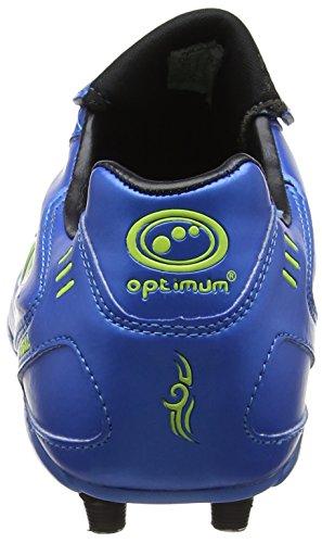 Optimum 6 Stud Tribal Lace Up, Chaussures de Football Homme Bleu (bleu/vert)