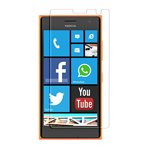 Heartly Crystal Clear Glossy Hot Transparent Protective Ultra Screen Gaurd Scratch Protector For Nokia Lumia 730 735  available at amazon for Rs.109