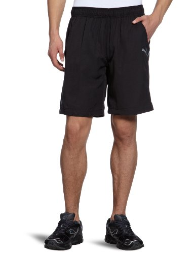 PUMA Herren  Shorts Woven Longer 2 Black