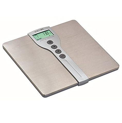 Camry 150kg/150kg Capacité Body Fat Moniteur échelle avec grande Plateforme