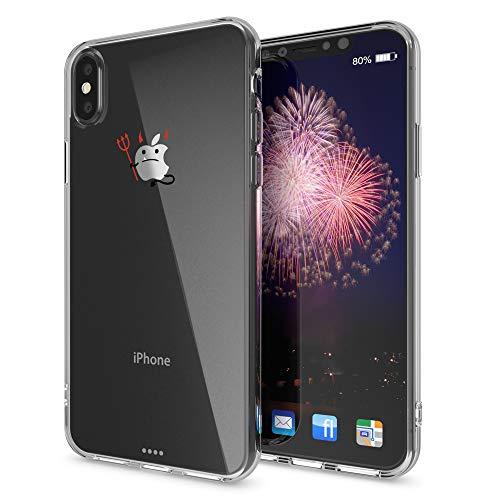 292e82d587c NALIA Funda Compatible con iPhone XS MAX, Motivo Design Movil Protectora  Ultra-Fina Carcasa
