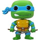 FUNKO Teenage Mutant Ninja Turtles - Leonardo Collectible figure Teenage Mutant Ninja Turtles - action figures & collectibles (Collectible figure, Dibujos animados, Teenage Mutant Ninja Turtles, Multi, Vinilo, Caja) - Figura Funko - Leonardo (10 cm) Tortugas Ninja