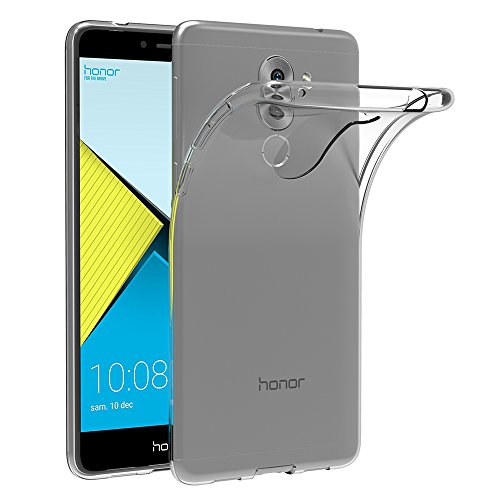 Funda Honor 6X, AICEK Honor 6X Funda Transparente Gel Silicona Huawei Honor 6X Premium Carcasa para Honor 6X