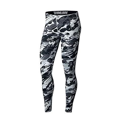 Nike International Rck GRDN Leggings (S, platin/white)