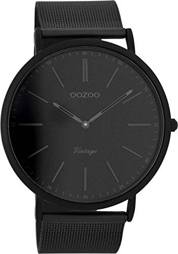 Oozoo Herrenuhr Digital Quarz mit Edelstahlarmband – C7384
