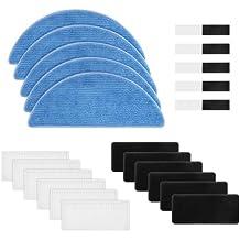 BLUELIRR 6 Filtros Hepa 6 Espumas Recambios para Cecotec Conga Excellence 990 5 Paños para Aspiradoras