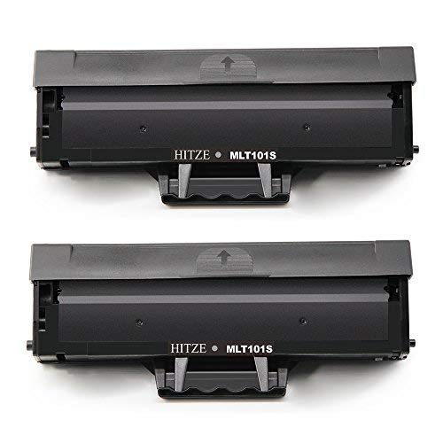 Hitze für Samsung MLT-D101S Kompatibel Toner, MLT D101S für Samsung ML-2160, ML-2161, ML-2162, ML-2165, ML-2165W, ML-2168, SCX-3400, SCX-3400F, SCX-3401, SCX-3405, SCX-3405F, SCX-3405FW (2 Schwarz) -