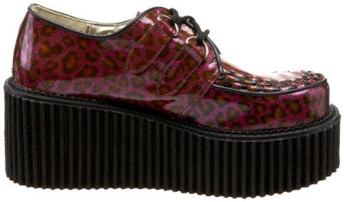Demonia , chaussures classiques femme Rouge