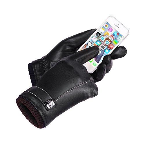 Tuopuda® Guantes mujeres invierno cálido/térmica guantes de pantalla táctil guantes de esquí...