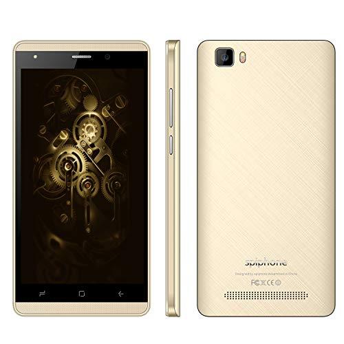 Moviles Libres Baratos,8Pcs 16GB ROM 5.0 Pulgadas Android 7,0 Doble Sim 2800mAh Batería 5MP Cámara Spiphone A10 Pro Smartphone Baratos Libres 3G+