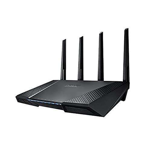 Asus RT-AC87 Router WIFI AC2400 Double Bande, Trend Micro Protection