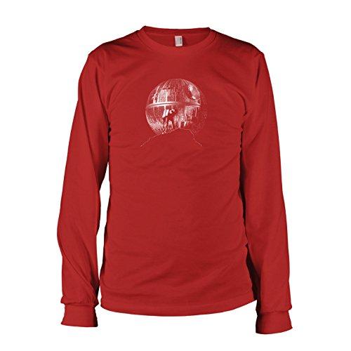 TEXLAB - AT-AT Howl - Langarm T-Shirt Rot