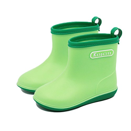 Vine Babys Wellies Children Rain Boots Waterproof Shoes for Boys Girls