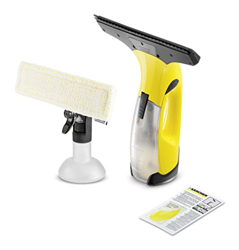 Kärcher Window Vac WV 2 Plus for windows, tiles, mirrors & shower, window cleaning set, window vacuum, efficient & reliable