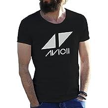 Friendly Bees Avicii Tim Berg Electronic Music Star Ibiza Logo Camiseta para hombre