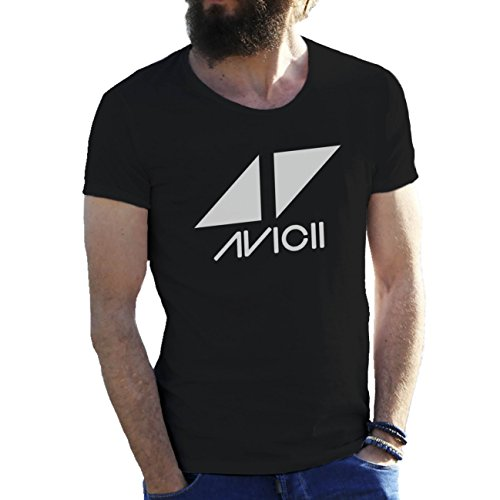 avicii-tim-berg-electronic-music-star-ibiza-logo-schwarz-herren-t-shirt-medium