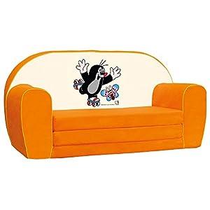 Bino Licencia 78 x 42 x 36 cm Little Mole Sofá (Naranja)