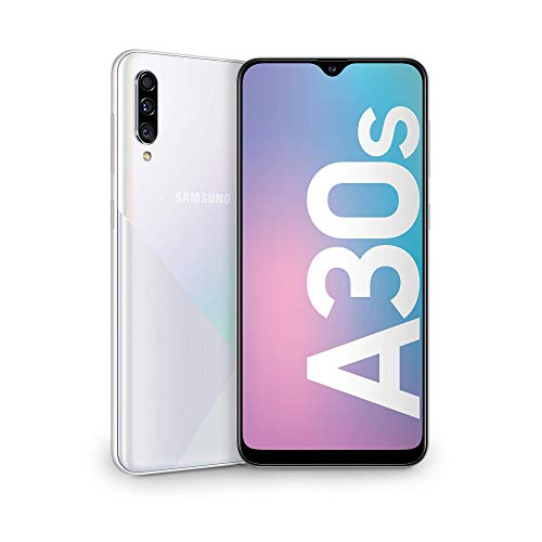 Samsung Galaxy A30s Dual SIM 64GB, White, A307F - Smartphone