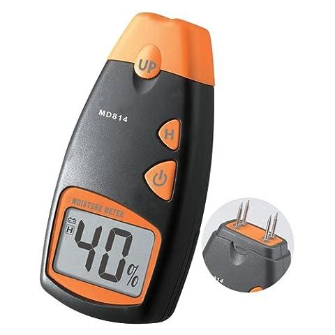 Dr. Meter LCD Display Digital Wood Moisture Detector Meter MD-814