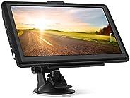 GPS Navi Navigationsgeräte für Auto,7 Zoll 8GB 256MB Touchscreen Navigation für LKW PKW KFZ,POI Blitzerwarnung Sprachführung