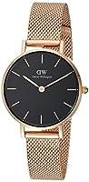 Daniel Wellington–Reloj de pulsera analógico para mujer cuarzo One Size, Negro, Rosé/Negro de Daniel Wellington