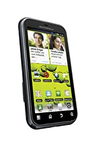 Motorola Defy+ Smartphone (9,3 cm (3,7 Zoll) Display, Touchscreen, 5 Megapixel Kamera, Android 2.3) schwarz