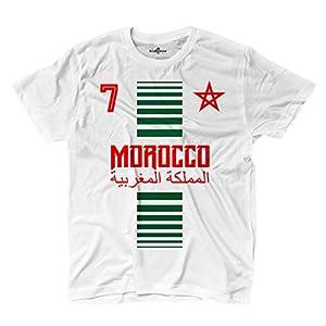 T-Shirt manner National Sport Marocco Marokko 7 fussball Sport Afrika Stella 2 KiarenzaFD Streetwear Shirts
