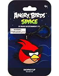 Preisvergleich für Angry Birds SPACEPVC Backpack Clip Super Red Bird by Commonwealth Toys