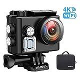 WiMiUS L2 Actioncam WiFi Action Cam 4k Wasserdichte Action Kamera HD 1080P Sports Action Camera...