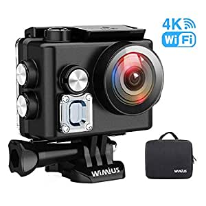 wimius l2 actioncam wifi action cam 4k wasserdichte. Black Bedroom Furniture Sets. Home Design Ideas