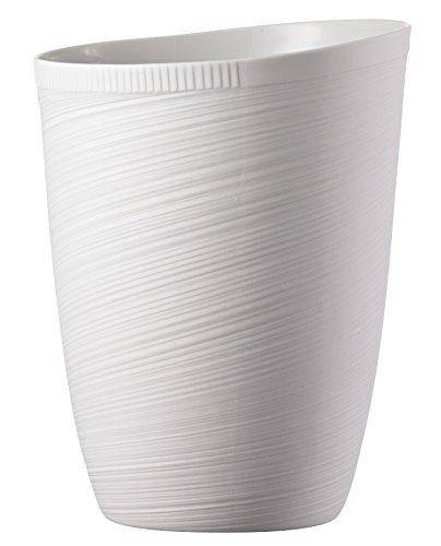 Rosenthal - Papyrus Vase Relief - Blumenvase - Porzellan - weiß - Höhe 23 cm Papyrus Vase