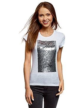 oodji Ultra Donna T-Shirt con