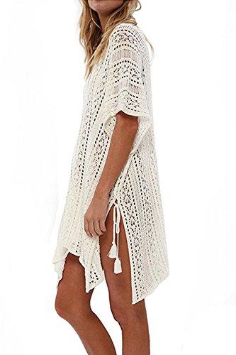 Le Donne L'estate A Bikini Insabbiamenti Costumi Beachwear Mini Vestito apricot