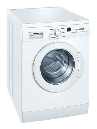 siemens wm14e346 machine laver chargement frontal a 1400 tr min 6 kg blanc super 15. Black Bedroom Furniture Sets. Home Design Ideas