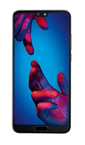 Huawei P20 Smartphone Bundle (14,7 cm (5,8 Zoll), 128GB interner Speicher, 4GB RAM, 20 MP Plus 12 MP Leica Dual Kamera, Android 8.1, EMUI 8.1) Schwarz [Exklusiv bei Amazon] - Deutsche Version