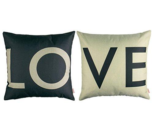 Cuscini decorativi, BeautyG 2pz Gettare cuscino cuscino copertura cuscino divano decorazione casa camera da letto