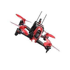 Walkera Rodeo 110Drone con cámara 600TVL, Negro/Rojo