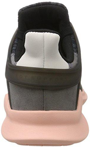 adidas Damen Equipment Support A Sneakers, Grau Schwarz (Core Black / Trace Grey / Ice Purple)